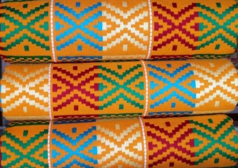 Mixed colours kente 13