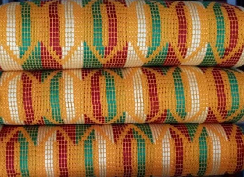 Mixed colours kente 22