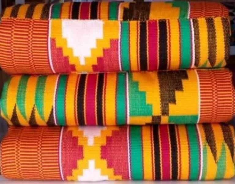 Mixed colours kente 27