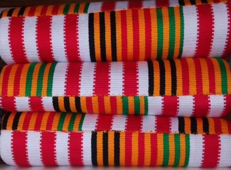Mixed colours kente 4