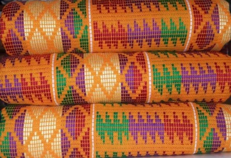 Mixed colours kente 6