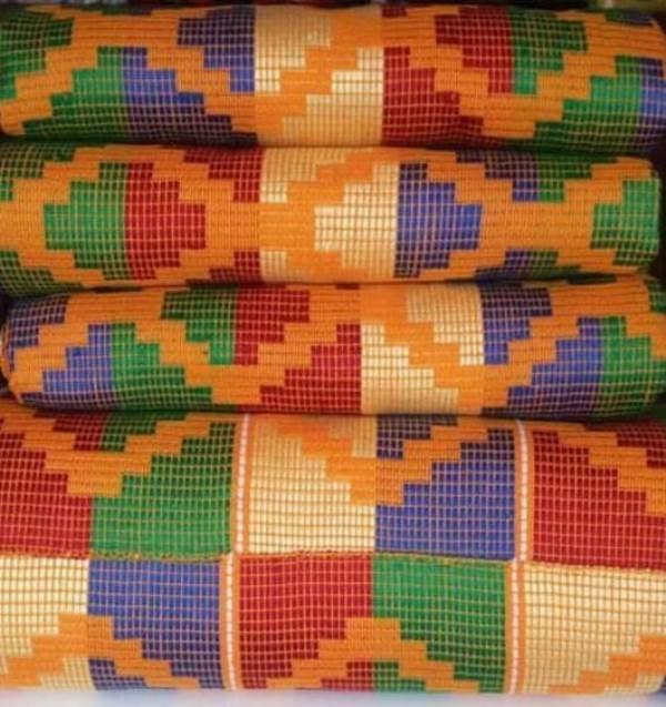 Mixed colours kente 8