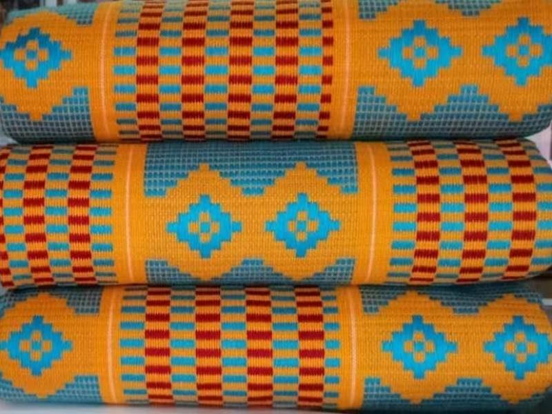 Mixed colours kente_40