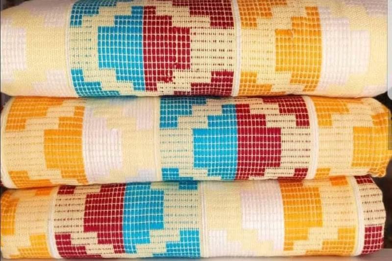Mixed colours kente_43